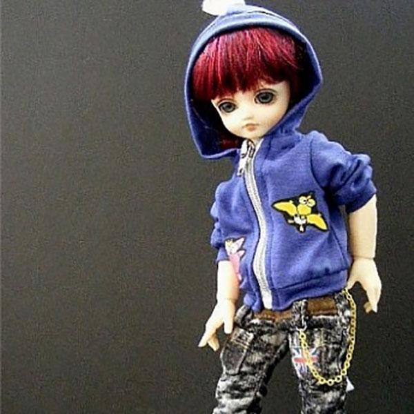 AnyDollStyle LittleFee YOSD 25cm Dino Blue