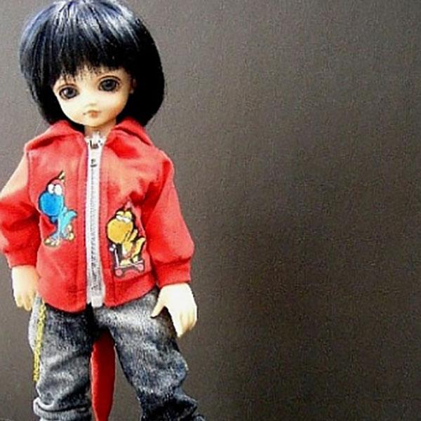 AnyDollStyle LittleFee YOSD 25cm Dino Red