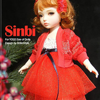 AnyDollStyle LittleFee YOSD 25cm Holiday Party Sinbi