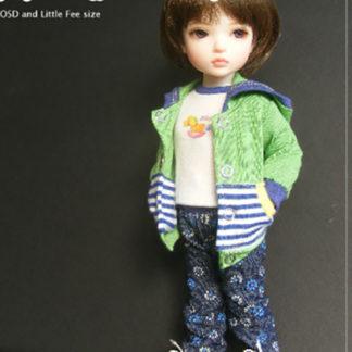 AnyDollStyle LittleFee YOSD 25cm Enjoyable Weekend Green