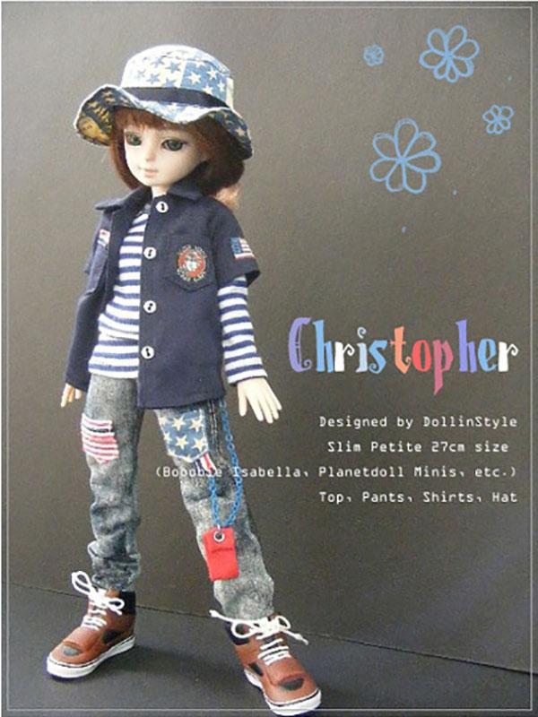 AnyDollStyle Petite Slim 27cm Christopher