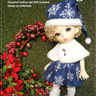 AnyDollStyle PukiFee 15.5cm Christmas Blue Snow Angel