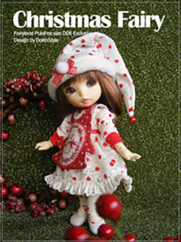 AnyDollStyle PukiFee 15.5cm Christmas Fairy