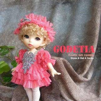 AnyDollStyle PukiFee 15.5cm Fashion Godetia