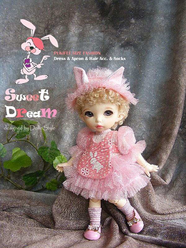 AnyDollStyle PukiFee 15.5cm Fashion Sweet Dream