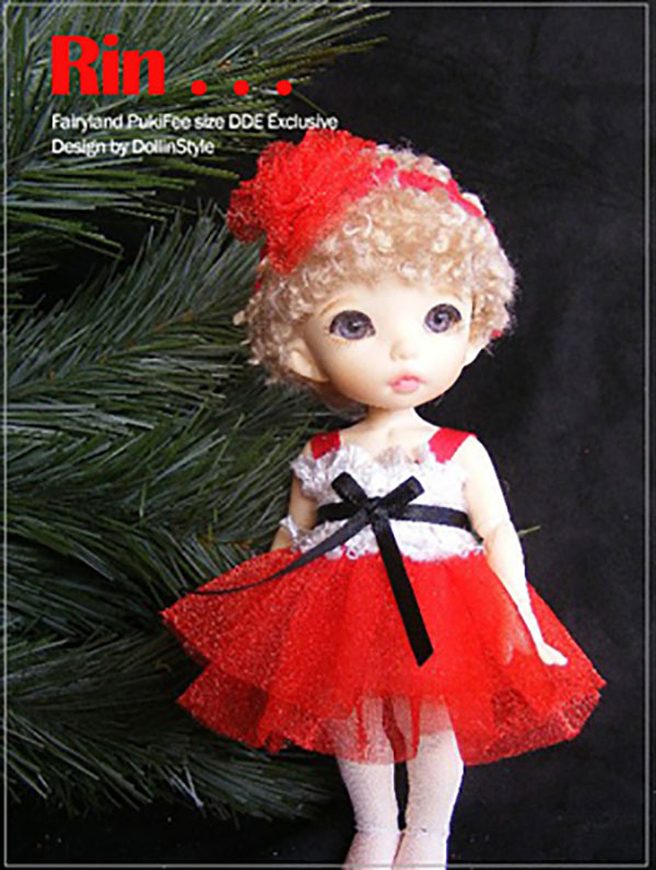 AnyDollStyle PukiFee 15.5cm Holiday Party Rin