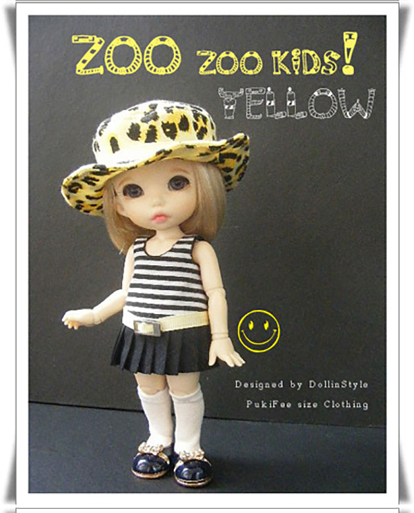 AnyDollStyle PukiFee 15.5cm Zoo Yellow