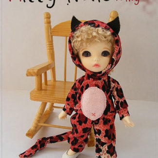 AnyDollStyle PukiFee 15.5cm Kitty Red