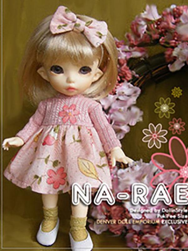 AnyDollStyle PukiFee 15.5cm Spring Has Sprung Na-Rae