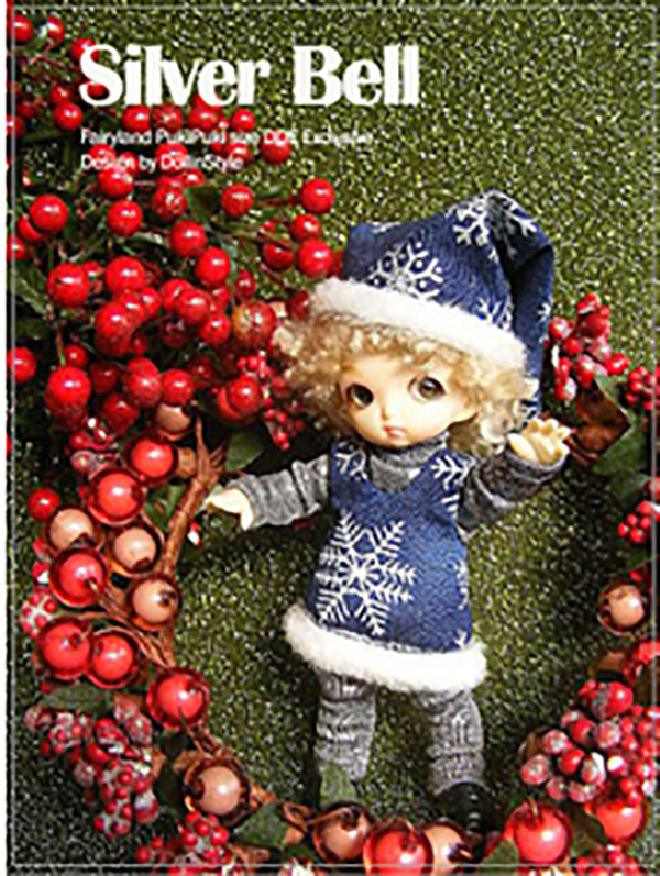 AnyDollStyle PukiPuki 11cm Christmas Silver Bell