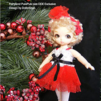 AnyDollStyle PukiPuki 11cm Holiday Party Bonnie