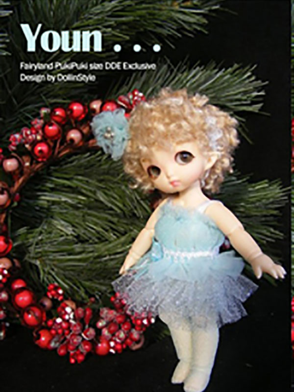AnyDollStyle PukiPuki 11cm Holiday Party Youn
