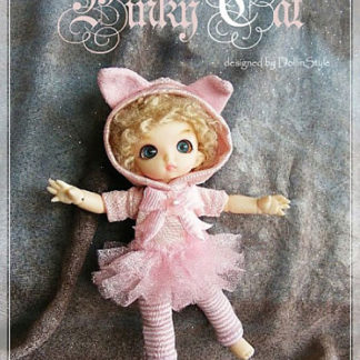 AnyDollStyle PukiPuki 11cm Pinky Cat