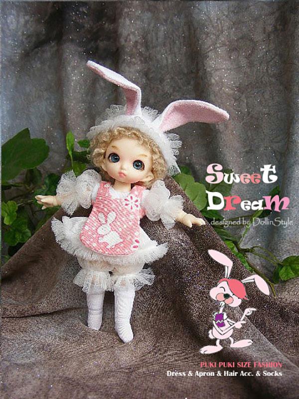 AnyDollStyle PukiPuki 11cm Sweet Dream