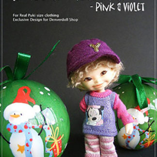 AnyDollStyle RealPuki 9.5cm Club House Pink Violet