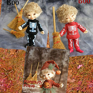 AnyDollStyle RealPuki 9.5cm Halloween Red Boo