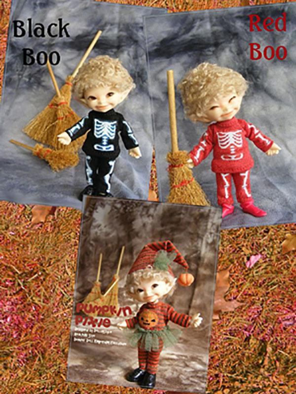 AnyDollStyle RealPuki 9.5cm Halloween Red Boo