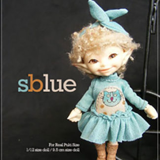 AnyDollStyle RealPuki 9.5cm SBlue