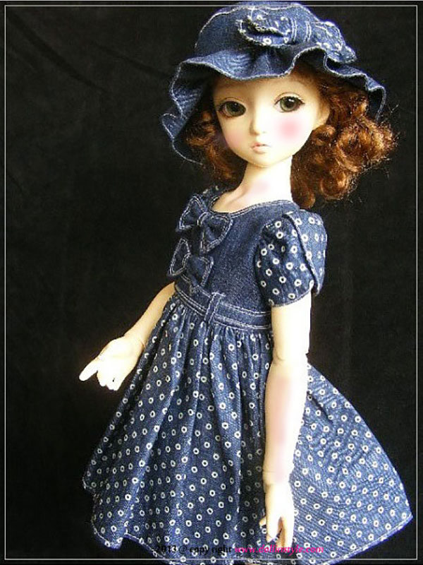 AnyDollStyle Slim MSD 40-41cm Kim Lasher Fiona Clara