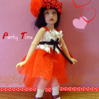 "AnyDollStyle TinyBits 6"" Slender Party Time"