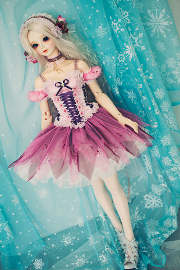 CheeryDoll SD13 Fairy of the Flower Pink Outfit