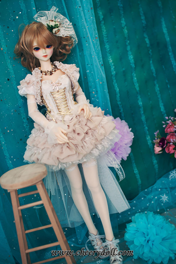 CheeryDoll SD13 SD16 Elegant Beauty Cream Outfit