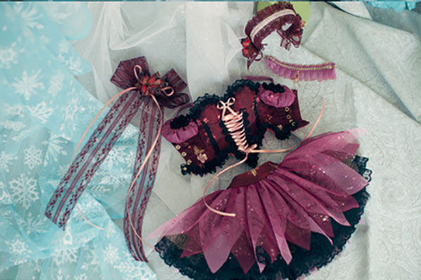 CheeryDoll SD16 Fairy of the Flower Wine Outfit