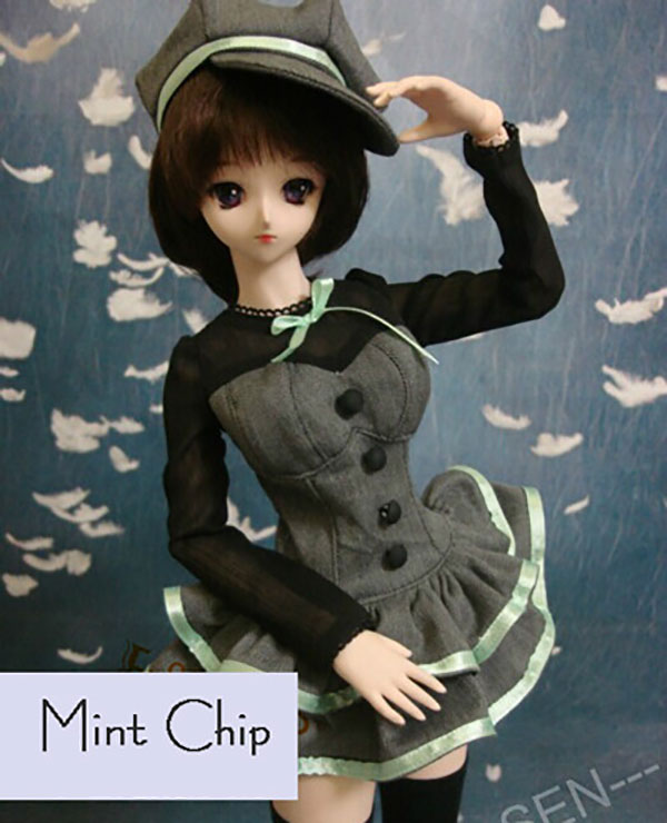 Clothes Horse SD MSD Outfit Mint Chip