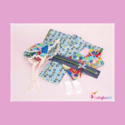fairyland little fee yukata blue