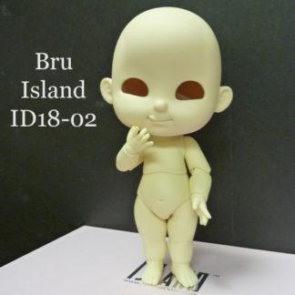 island doll bru id1802 natural