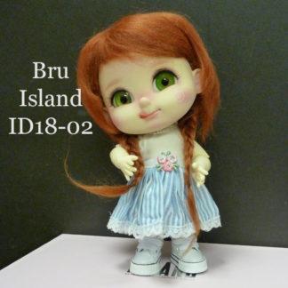 island doll bru id1802 redbraid