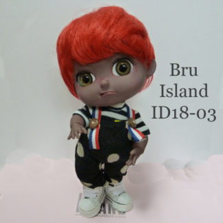 island doll bru id1803 dark tan