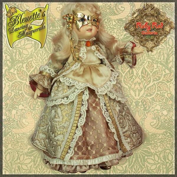 RubyRed Galleria Charmette Masquerade