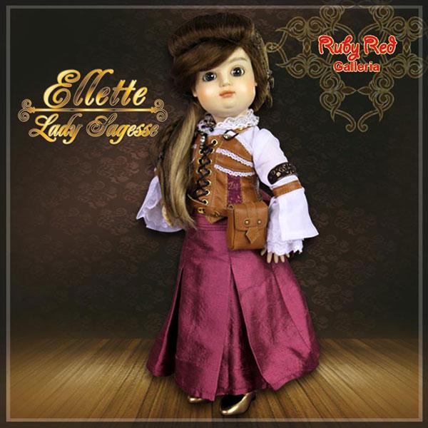 RubyRed Galleria Ellette Bluette Lady Sagesse