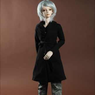 doll more mero cardigan black sd