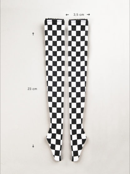 msd chess board stocking black and white