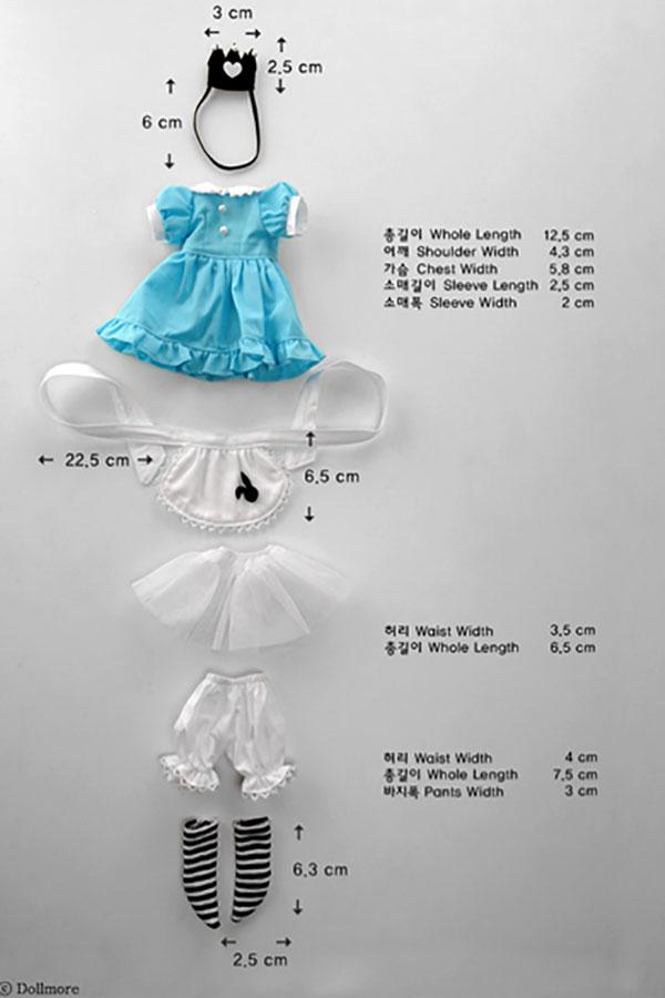 Dollmore Dear Doll YoSD Alice Outfit