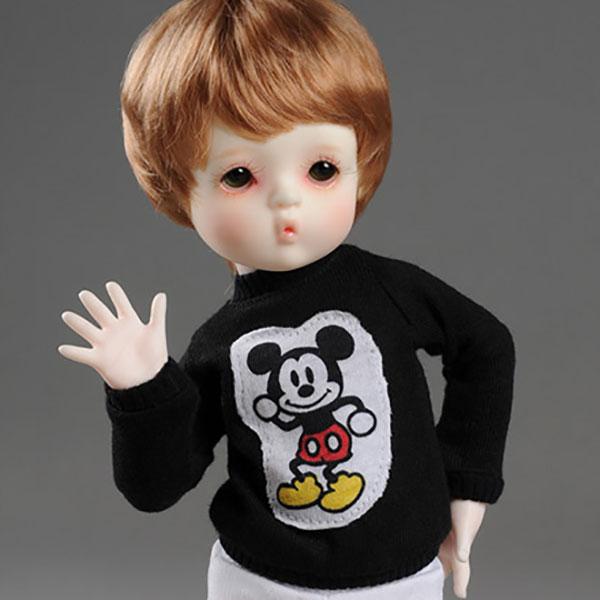 Dollmore Dear Doll YoSD Mikiti Black Outfit