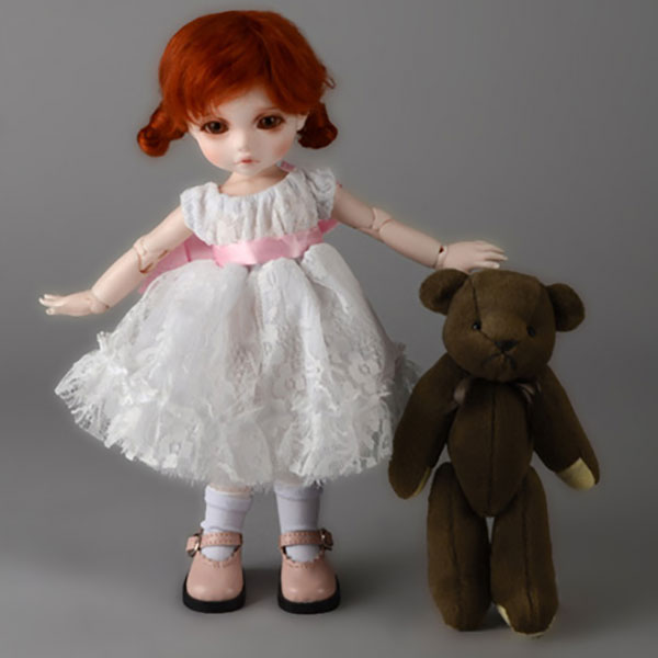 Dollmore Dear Doll YoSD Oresrose Dress White Outfit