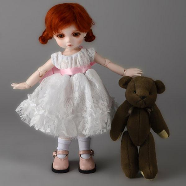 Dollmore Dear Doll YoSD Oresrose Dress White Outfit