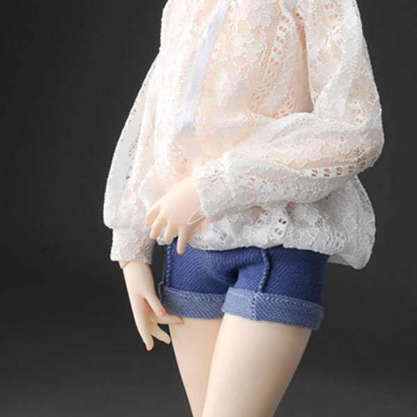 Dollmore Kid MSD Carma Shorts Denim Outfit
