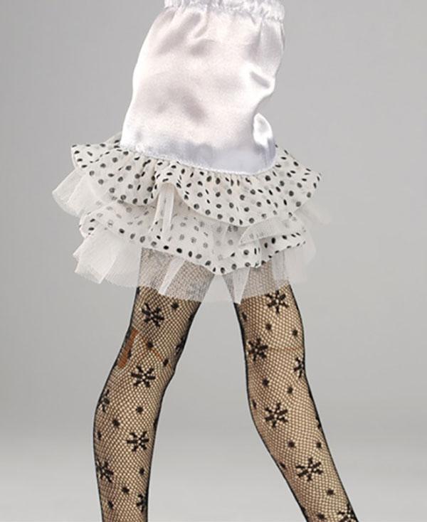 Dollmore Kid MSD Frillnara White Underskirt Outfit