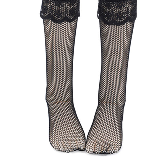 Dollmore Kids MSD ND High Socks Black Fishnet Outfit