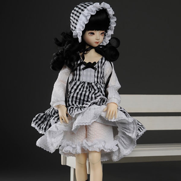 Dollmore Kids MSD Ripple Dress Set Outfit