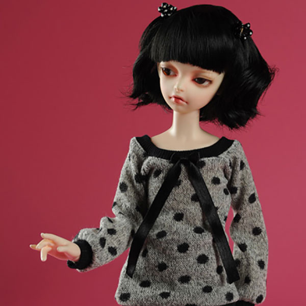 Dollmore Kid MSD Siora Knit T-Shirt Outfit