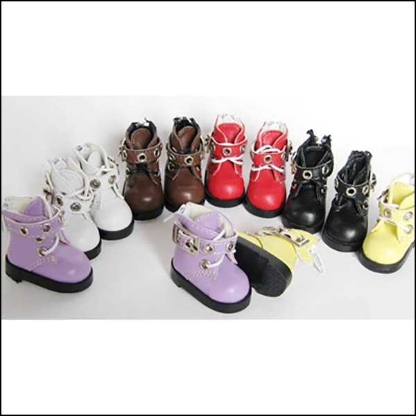 Jinny YoSD Purple Red Yellow Tootie Shoes