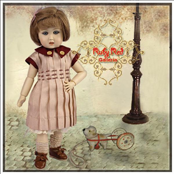 RubyRed Galleria Bleuette Burgundy Joy Outfit