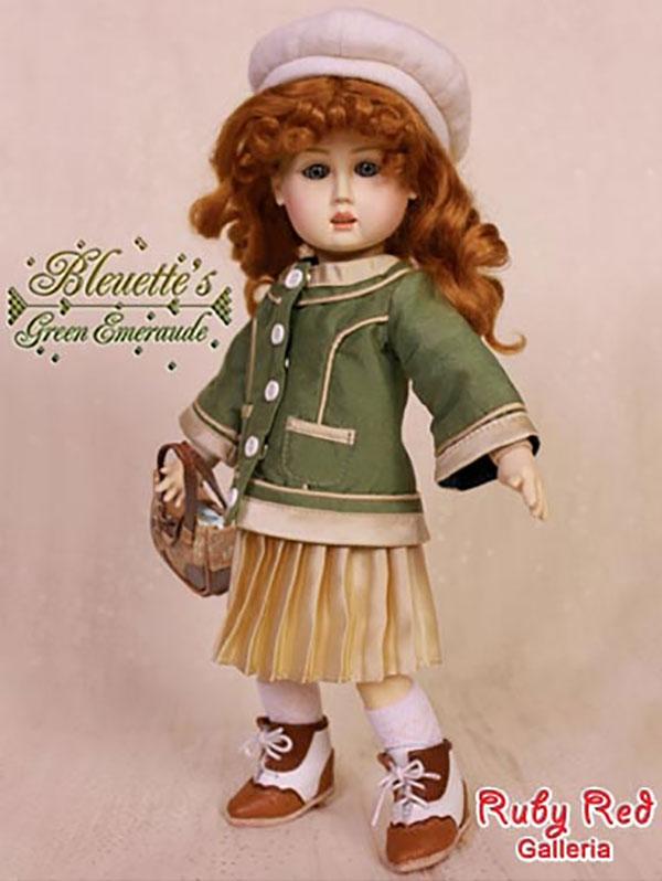 RubyRed Galleria Bleuette Green Emeraude Outfit
