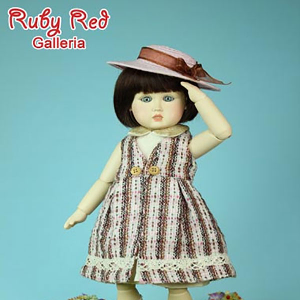 RubyRed Galleria Little Garner Outfit Pattern Package
