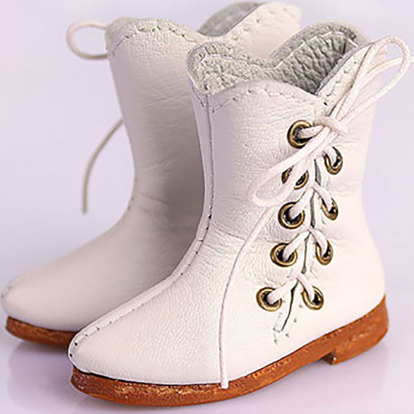 RubyRed Galleria Bleuette Side Lace Boots